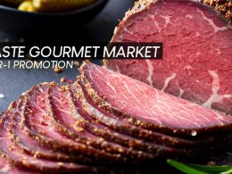 [DISCOUNT CODE INSIDE] Taste Gourmet Market kicks off the festive season with an exclusive 1-for-1 Promotion and awesome discounts! - Alvinology