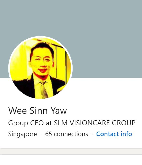 Who is Darren Yaw, CEO of SLM Visioncare and ICC Visioncare? - Alvinology