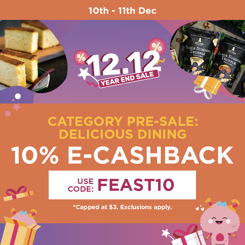 [PROMO CODES INSIDE] Fave 12.12 Year-end Sale - up to 90% sitewide discounts, cashbacks, and 1-for-1 offers! Here's a list of promo codes you can use! - Alvinology