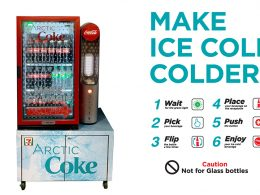This new Arctic Coke Cooler can turn your favourite drink cold enough to be on the verge of freezing, the perfect thirst quencher! - Alvinology