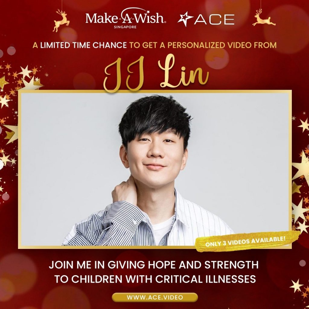 Receive a personalized video greeting from Kris Jenner, JJ Lin, Sir Nick Faldo, David Foster, Steven Seagal, and more this festive season on ACE! - Alvinology