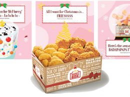 Warm your tummies and hearts with the McDonald's Festive Happy Sharing Boxes available starting today! - Alvinology