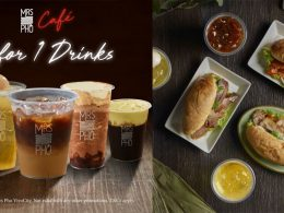[1-FOR-1 PROMO] Mrs Pho Café offers 1-for-1 promotion on its entire range of drinks from now till 9 December! Don't miss it! - Alvinology