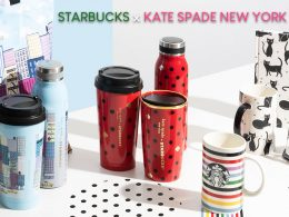Starbucks x Kate Spade New York collection – grab these colourful and playful designs, with Kate Spade New York's signature dots - Alvinology
