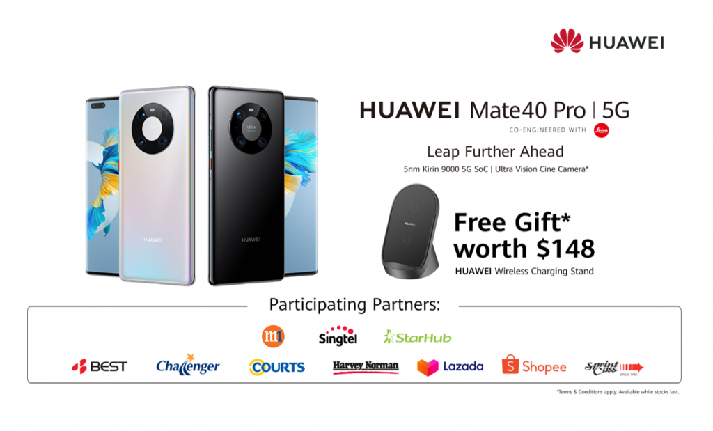 HUAWEI Mate 40 Pro coming to Singapore on 12 Dec 20 - Alvinology